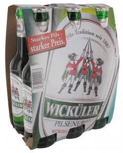 Wicküler Pilsener (6 x 0,33 l) - 4079600222163