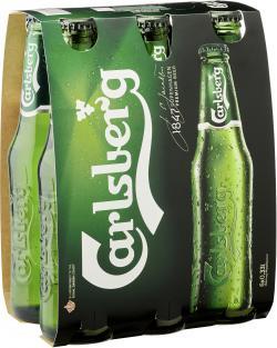 Carlsberg Bier (6 x 0,33 l) - 5740600514204