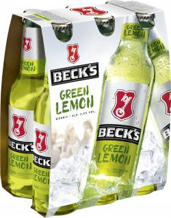 Beck's Green Lemon (6 x 0,33 l) - 4100130900266