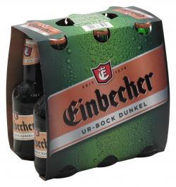 Einbecker Ur-Bock dunkel (6 x 0,33 l) - 4004078335060