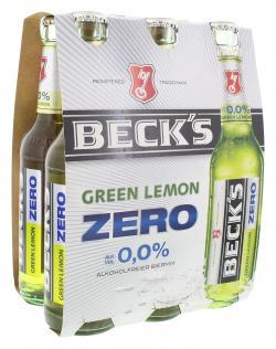 Beck's Green Lemon Zero (6 x 0,33 l) - 4100130900297