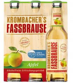 Krombacher's Fassbrause Apfel (6 x 0,33 l) - 4008287903522