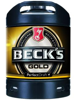 Beck's Gold Perfect Draft Partyfass (Mehrweg)