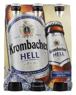 Krombacher Hell (6 x 0,33 l) - 4008287905106