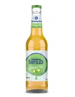 Bünting Bottled Grüner Tee Minze & Ingwer (Mehrweg)