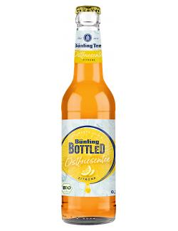 Bünting Bottled Ostfriesentee Zitrone (Mehrweg)