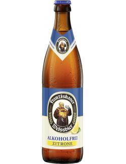Franziskaner Weissbier alkoholfrei Zitrone (Mehrweg)