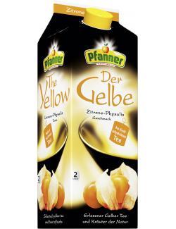 Pfanner Der Gelbe Zitrone-Physalis