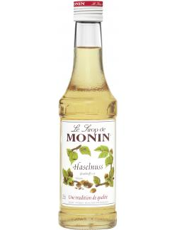 Monin Sirup Haselnuss (250 ml) - 4008077744359