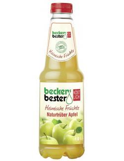 Becker's Bester Heimische Früchte Naturtrüber Apfel (1 l) - 4001716033029