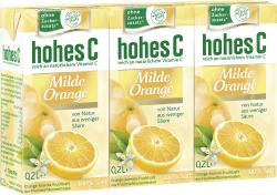 Hohes C Milde Orange (3 x 0,20 l) - 4045145506006