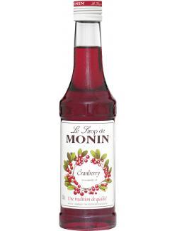 Monin Sirup Cranberry (250 ml) - 4008077744298