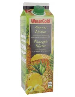 Wesergold Ananas-Nektar (1 l) - 40413006