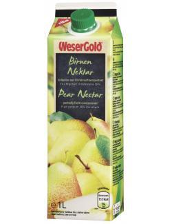 Wesergold Birnen-Nektar