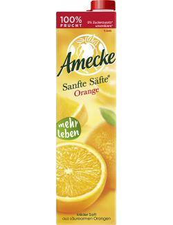 Amecke Sanfte Säfte Orange (1 l) - 4005517004011