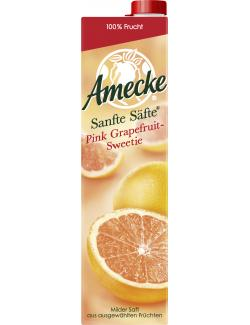 Amecke Sanfte Säfte Pink Grapefruit (1 l) - 4005517004066