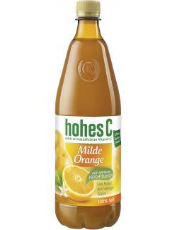 Hohes C Milde Orange mit Fruchtfleisch
