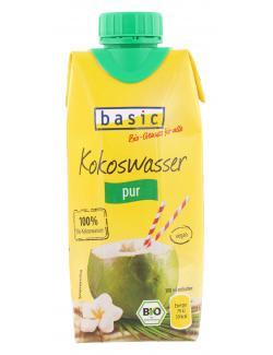 Basic Kokoswasser pur