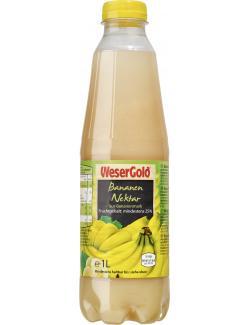 Wesergold Bananen Nektar