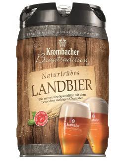 Krombacher Brautradition Naturtrübes Landbier