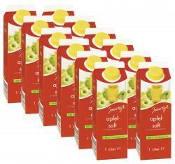 Jeden Tag Apfelsaft klar