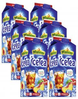 Pfanner Eistee Pfirsich