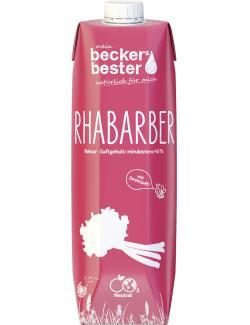 Becker's Bester Rhabarber Nektar