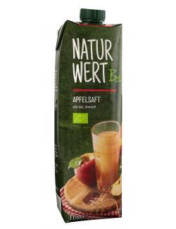 NaturWert Bio Apfelsaft naturtrüb