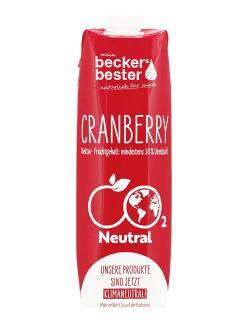 Becker's Bester Cranberry-Nektar