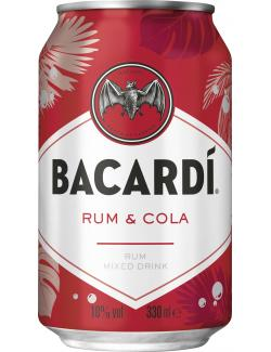 Bacardi Superior & Cola (330 ml) - 5010677523028