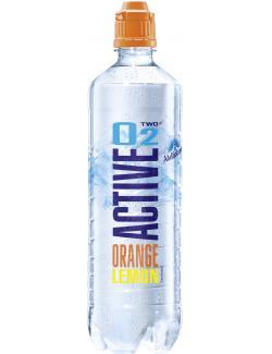 Active O2 Two Erfrischungsgetränk Orange Zitrone (Einweg)