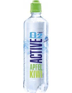 Active O2 Two Erfrischungsgetränk Apfel Kiwi (Einweg)