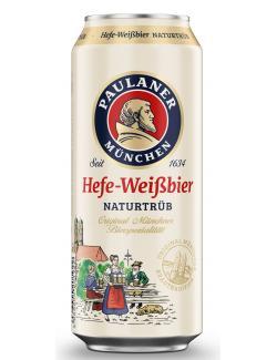 Paulaner Hefe-Weißbier (Einweg)