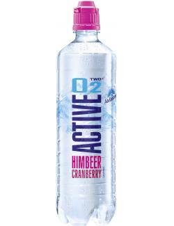 Active O2 Two Erfrischungsgetränk Himbeer Cranberry (750 ml) - 4005906004103
