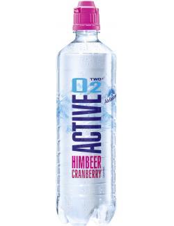 Active O2 Two Erfrischungsgetränk Himbeer Cranberry (Einweg)