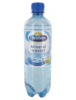 Christinen Mineralwasser spritzig (Einweg)