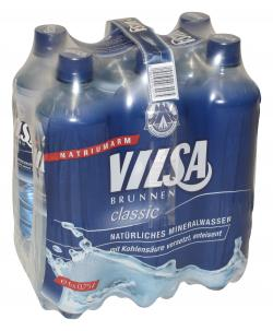 Vilsa Brunnen Mineralwasser classic (6 x 0,75 l) - 2000422199922