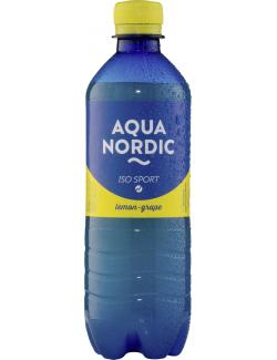 Aqua Nordic Iso Sport Lemon Grape (500 ml) - 4027109902079