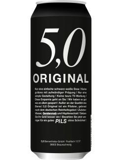 5,0 Original Pils (500 ml) - 4014086093364