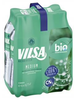 Vilsa Brunnen Medium (6 x 0,75 l) - 4104450065582