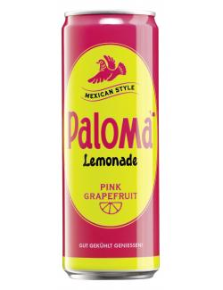 Paloma Lemonade Pink Grapefruit (355 ml) - 4062400862509