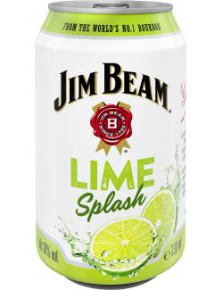 Jim Beam Lime Splash (330 ml) - 5060045582973