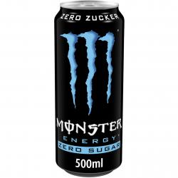 Monster Energy Absolutely zero (500 ml) - 5060166697716