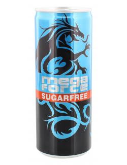 Megaforce Energy Drink sugarfree (250 ml) - 8713900003904