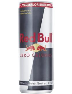 Red Bull Energy Drink zero calories (Einweg)