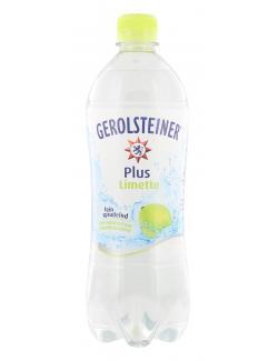 Gerolsteiner Plus Erfrischungsgetränk Limette (Einweg)