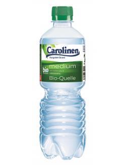 Carolinen Mineralwasser medium (Einweg)