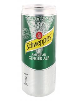 Schweppes American Ginger Ale (330 ml) - 4000140705083
