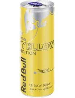 Red Bull Yellow Edition Tropical (Einweg)