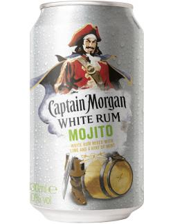 Captain Morgan White Rum Mojito (Einweg)